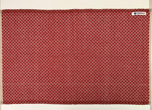 TW1070.01 | Towels - Large - Red and Beige | Super-absorbent, All Cotton Make E