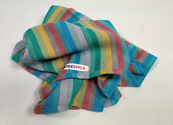 TW1064.17   Towels - Peacock   Handmade 100% Pre-Shrunk Cotton