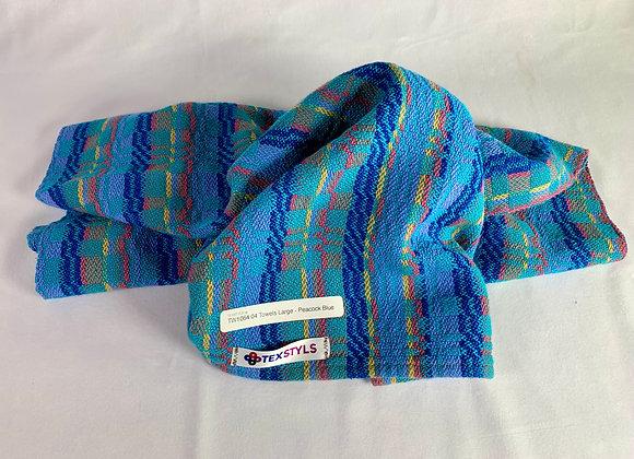 TW1064.04   Towel   Peacock Blue