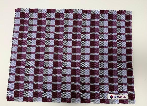 PM1064.BURGANDY   Placemats - BURGUNDY   Pre-Shrunk 100% Cotton