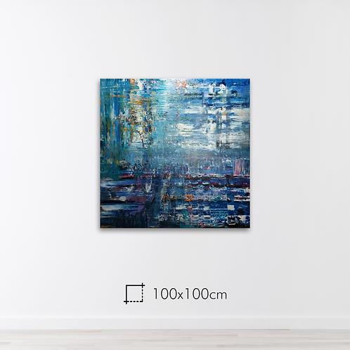 Abstrato 100x100cm