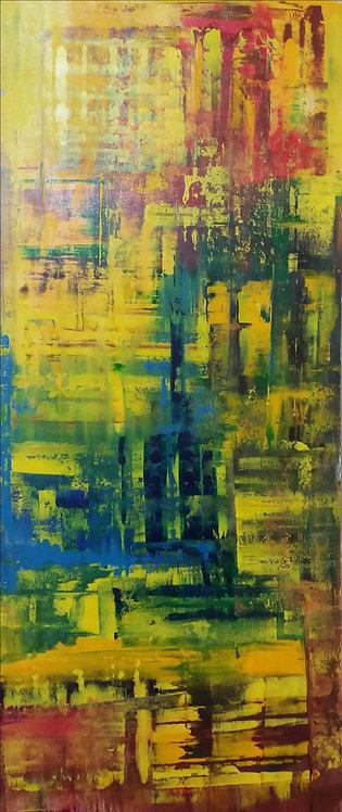 Abstrato VIII - 60x140cm