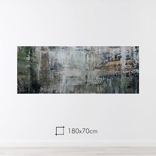 Abstrato 180x70cm
