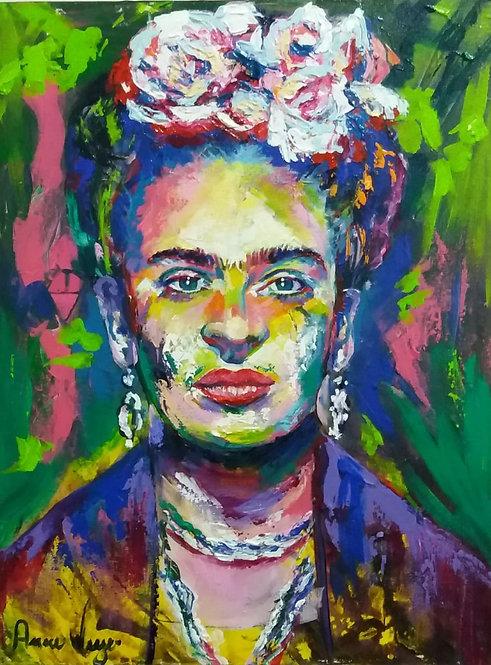 Frida Khalo - 30x40cm