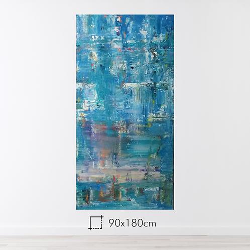 Abstrato 90x180cm