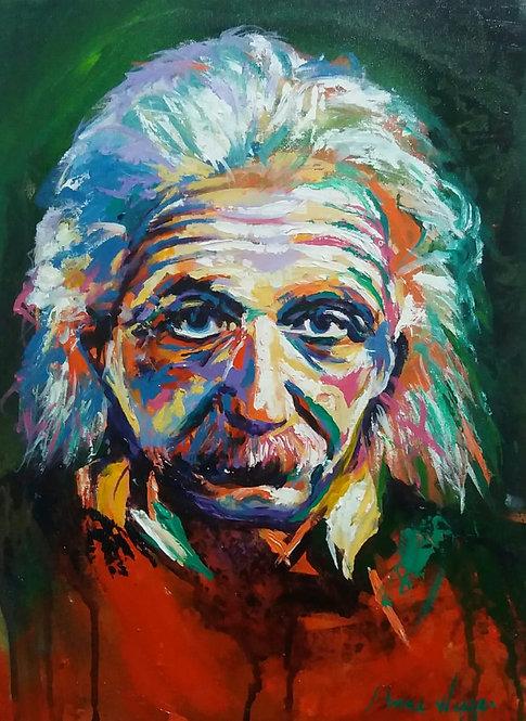Albert Einstein - 30x40cm