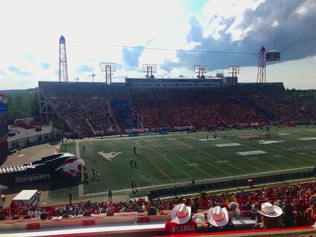 Calgary Stampeders Heritage Day
