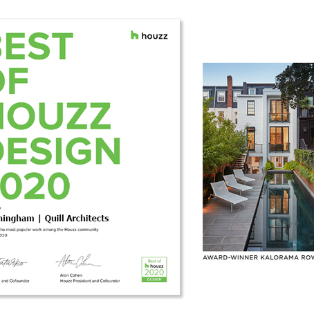 Cunningham Quill Wins Best of Houzz 2020