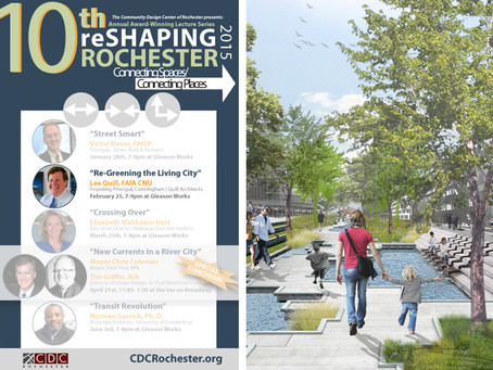 Lee Quill, FAIA, CNU to Present in Annual Reshaping Rochester Lecture Series