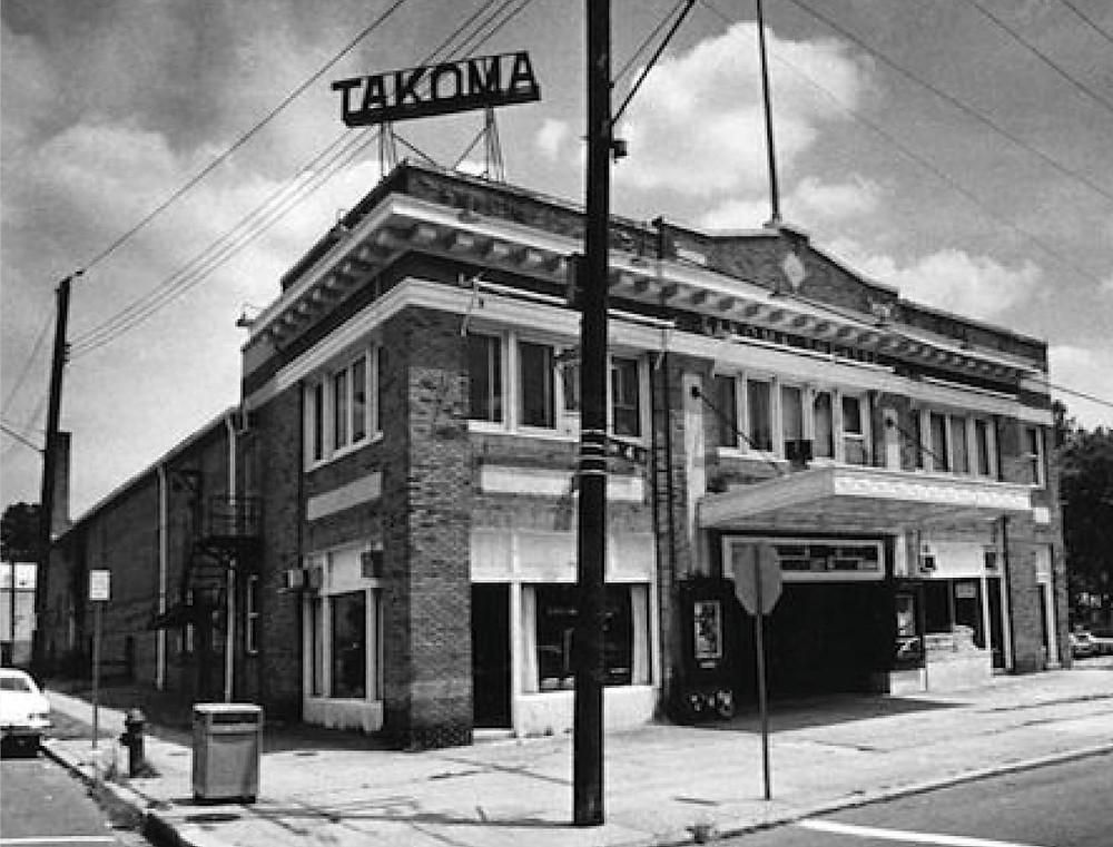 Original Takoma Theater (circa 1980)