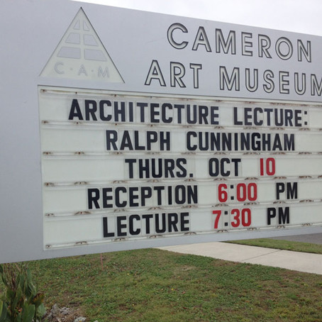 Ralph Cunningham, FAIA Presents the 2013 AIA Wilmington Design Awards