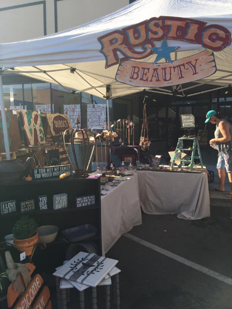 A Vintage Faire Vendor Booth Showcase