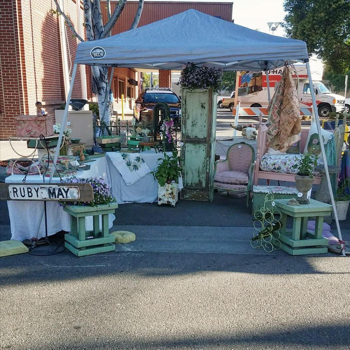 Street Faire Vendor Booth