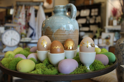 DIY Bohemian Easter Eggs