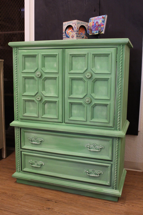 Dr. Seuss Cabinet Inspired by Chalk Paint® by Annie Sloan