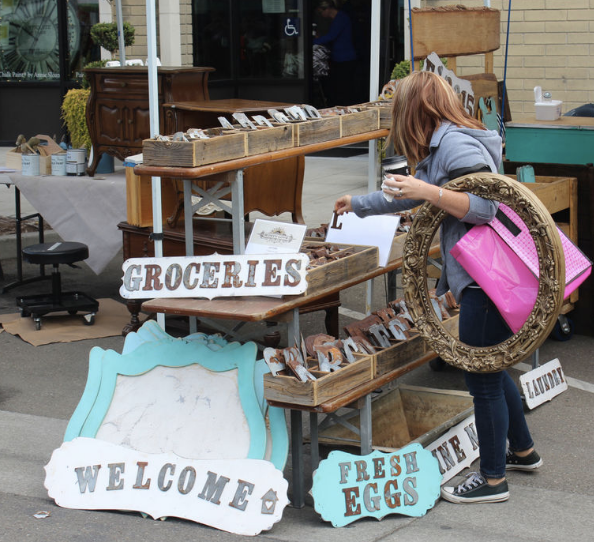 Vintage and Hand-made Signage