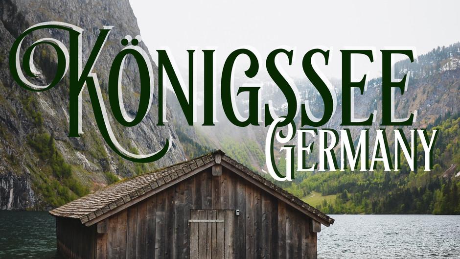 Wild Bavaria: Lake Königssee and Berchtesgaden