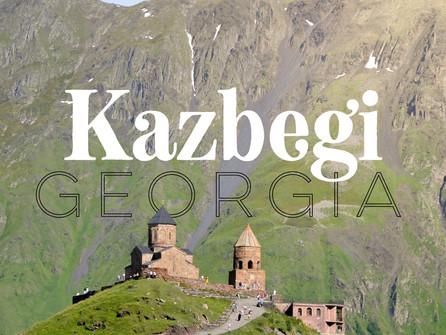 Mountains and their Myths: Mount Kazbek