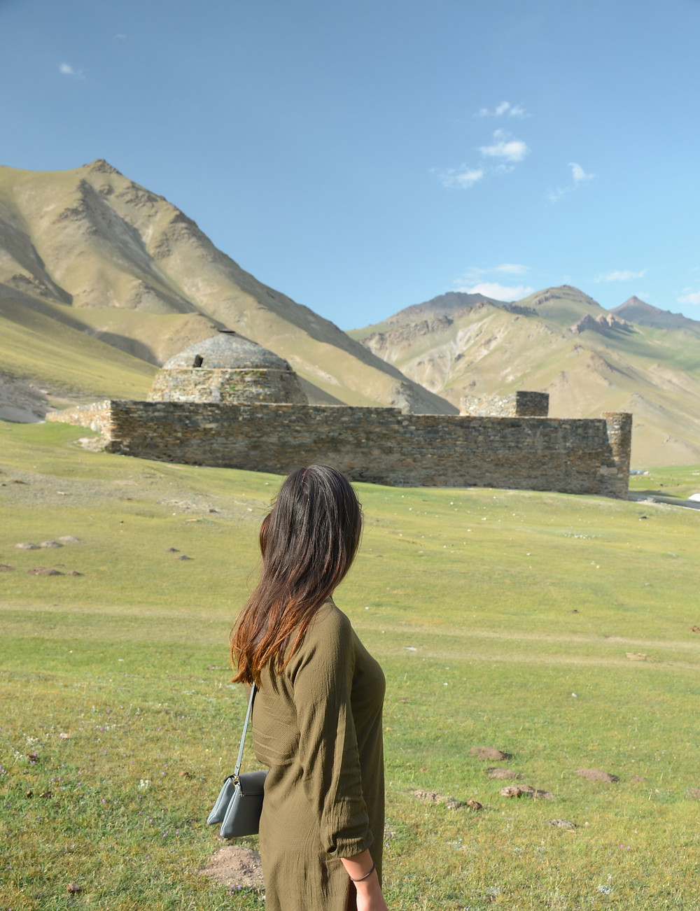 tash rabat, caravanserai, mountains