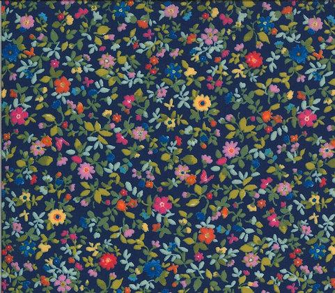 Lulu -Packed floral - navy