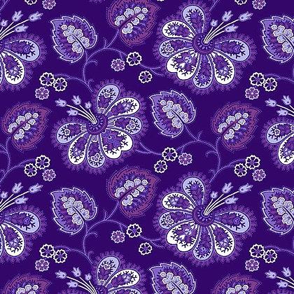Lavender Fields - Violette Allover Dark Purple