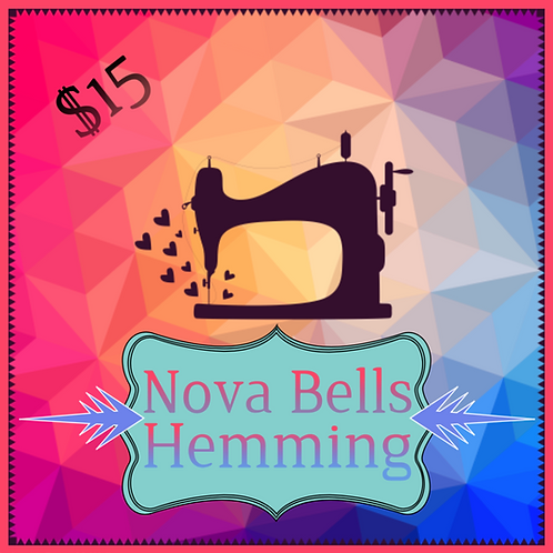 Hemming - Tie Dye Nova Bells