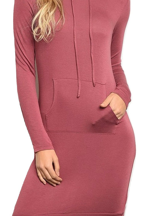 Berrylicious Hooded Dress
