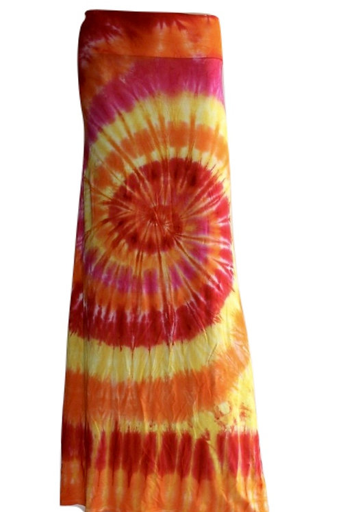 Tie Dye Skirt #1 - One of a Kind