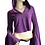 Thumbnail: Cali Bell Crop Top - Plum