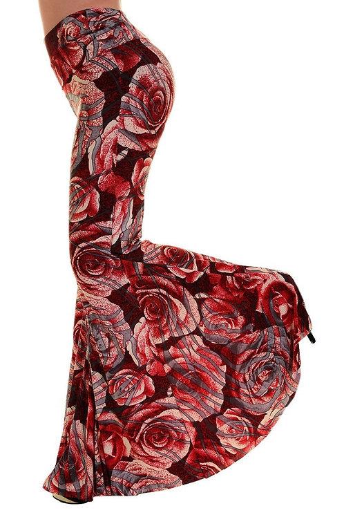 Rose Wide Slim Bells