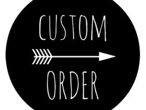 Heather - Custom Listing
