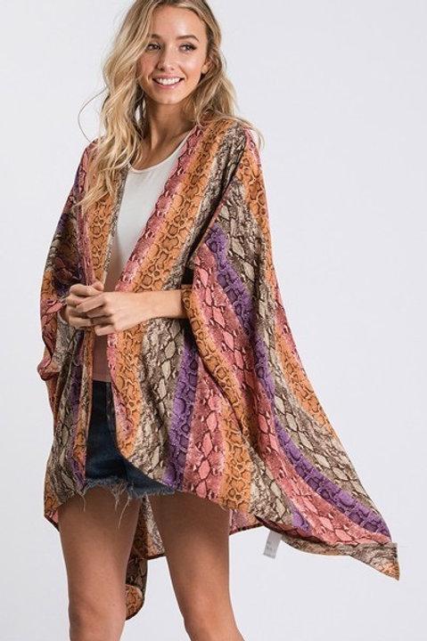 CY Rainbow Kimono