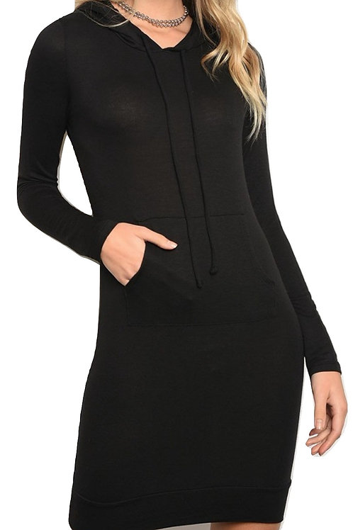 Blacklicious Hooded Dress
