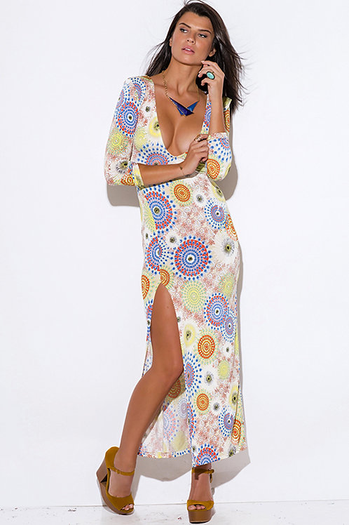 Kaleidoscope Open Back Dress