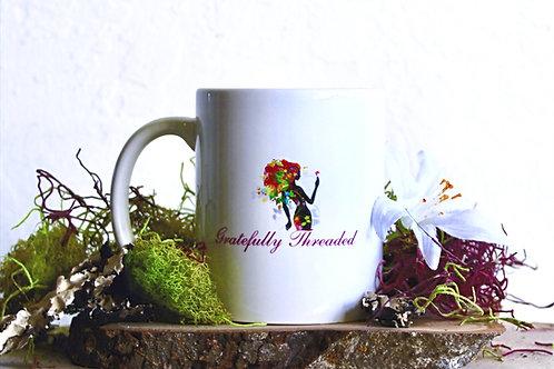Gratefully Threaded 10oz Mug