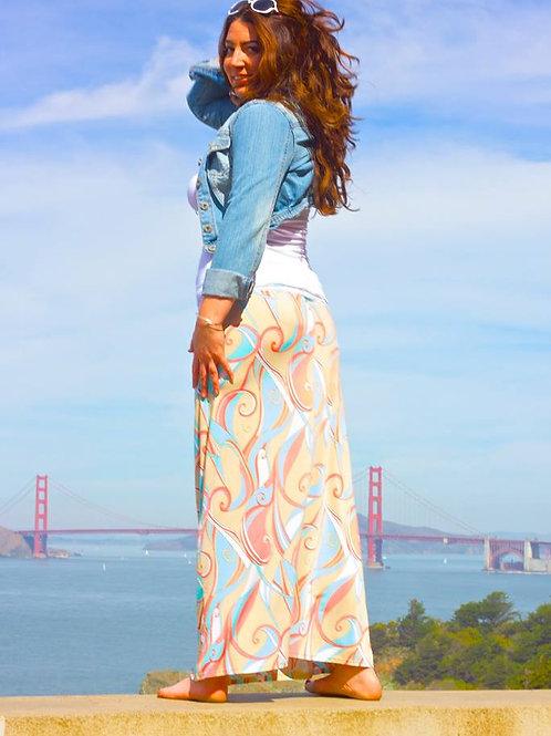 Pastel Wonders Long Skirt