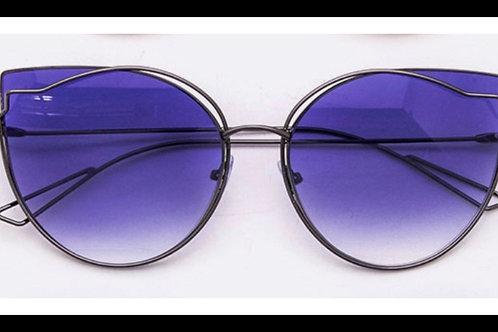 Purple Cat Eye Sunglasses