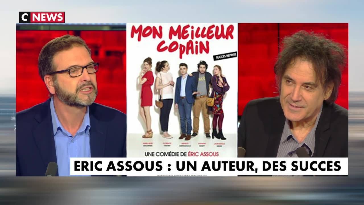 ERIC ASSOUS SUR CNEWS A PROPOS DE MON MEILLEUR COPAIN AU GRAND POINT VIRGULE