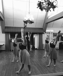 Ballet dance lessons and recitals.