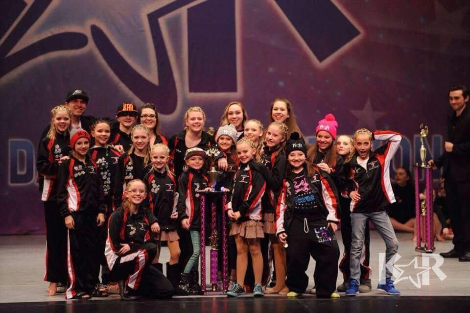 Kalispell competition dance teams