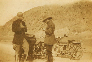 Grandad (Dads Dad) up Khyber Pass in 191
