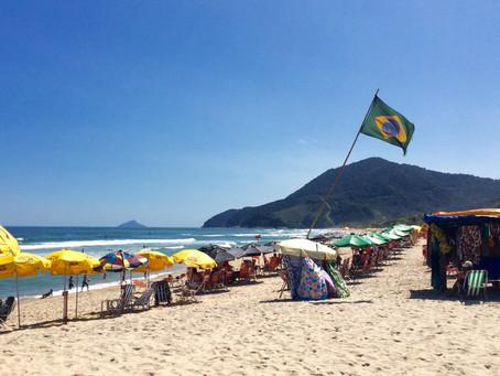 Uma semana no litoral de São Paulo