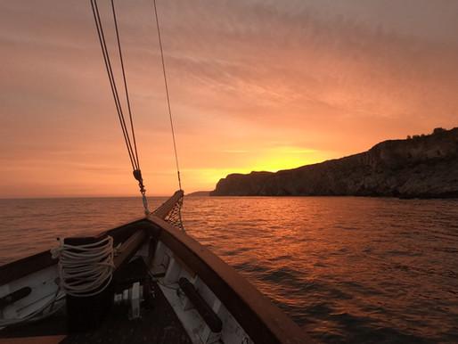 Sesimbra - Noite a bordo
