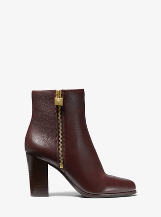 Item: Frenchie Tumbled Leather Ankle Boot