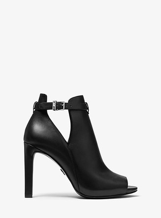 Item: Lawson Leather Open-Toe Ankle Boot