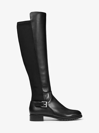 Item: Branson Stretch Leather Boot