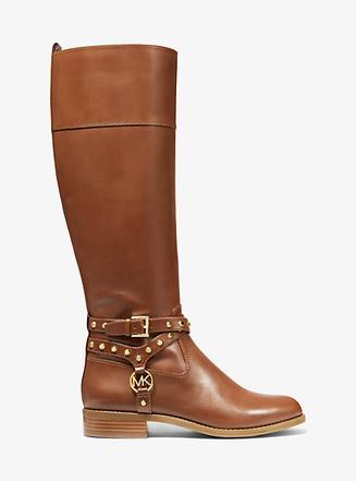 Item: Preston Studded Leather Boot