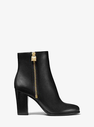 Item: Frenchie Vachetta Leather Ankle Boot