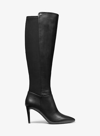 Item: Dorothy Flex Stretch Leather Boot