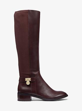 Item: Hamilton Stretch Leather Boot